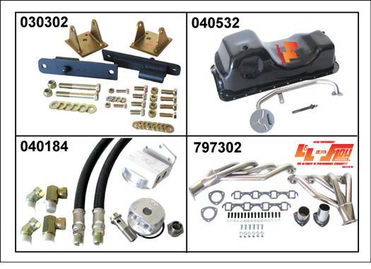 Ford Conversion Kit: Ford 429/460 460 swap kit